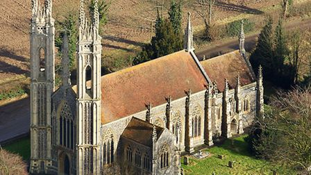 Booton Church, near Reepham, is one of Norfolk's most unusual churches. St Michael the Archangel's C