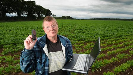 Edingthorpe resident Kaye Lansdell has been having broadband problems with BT for over four years.PH