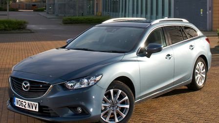 The Mazda6 Tourer is a stylish estate with a load capacity to match its good looks.