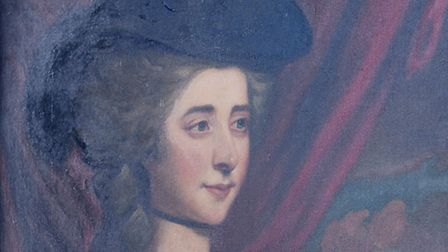 A painting of Fanny Burney. Picture: Matthew Usher
