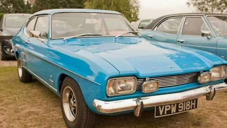 One of the cars set to appear at the 1970s classic car event at Wroxham Barns on Sunday.