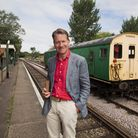 Michael Portillo, who will perform the official re-opening of King's Lynn's revamped station.