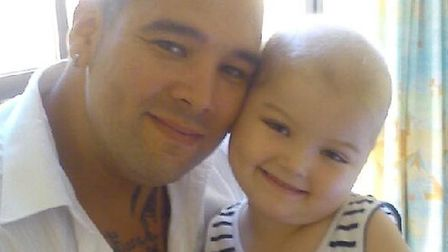 Brogan Didwell and her father James Didwell: Submitted
