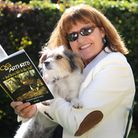 Gill Carrick, author of My Dog has Arthritis, pictured with Tilly the dog.PHOTO: ANTONY KELLY