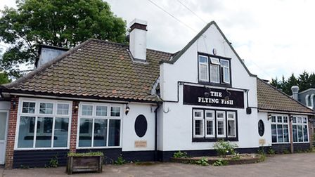 The Flying Fish pub in Carbrooke. Picture: Matthew Usher.