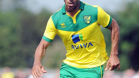 Lewis Grabban was on the mark in his first Carrow Road outing in a Norwich City shirt in the romp ov