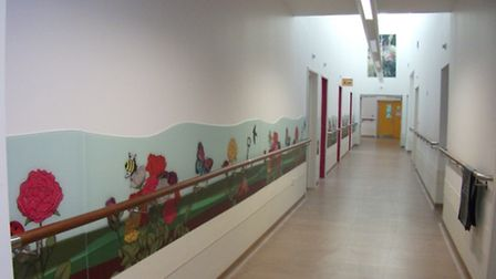 One of the refurbished wards at Hammerton Court.