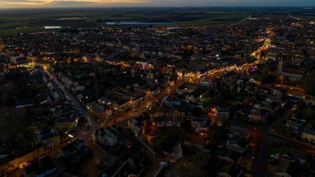 Thousands of bulbs and 35 years in the making. Chatteris streets lined with Christmas lights,High S