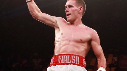 Liam Walsh eased to victory against Kevin Hooper in Manchester. Picture: Sean Dempsey/PA Wire