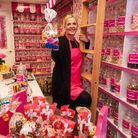 Vanessa Kisby in the new Sweeties store, in New Market, Beccles.