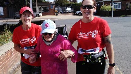 March women joined by Audrey Hindle for virtual Great North Run
