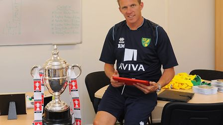 Norwich City's new technical director Ricky Martin was a key part of the 2013 FA Youth Cup success.