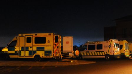 Ambulance response times in West Norfolk significantly less than East England average. Photo: Steve