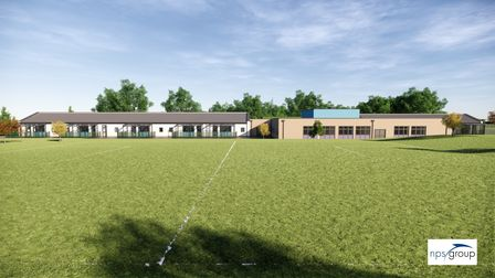 A CGI mock up what the school might look like