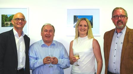 Pictured left to right: Peter Brown (Jack Richards & Son, Managing Director, Paul Day (Turners Group
