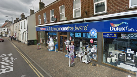 An electric scooter was stolen from the AT Johnson store on Bridge Street in Downham Market