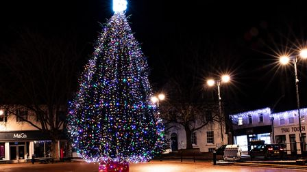 Ely Christmas lights 2020.
