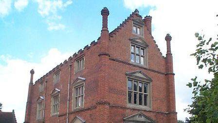 Roos Hall, on the outskirts of Beccles.