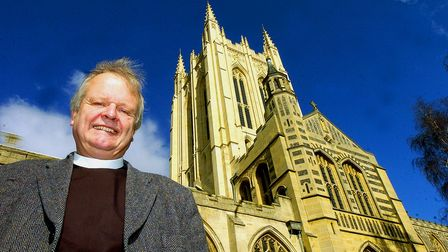 The Very Reverend James Atwell, former Dean of St Edmundsbury Cathedral