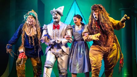 Production photos of KD Theatre Production's 'The Wizard Of Oz'.