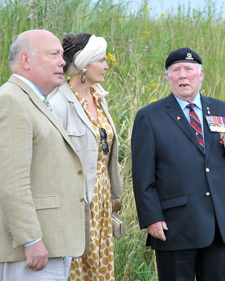 Lady Emma Kitchener-Fellowes accompanied by Julian Fellowes officially launched the Lord Kitchener M