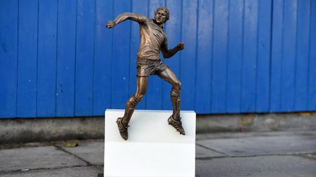 The maquettes are hand made by Sean Hedges Quinn, who sculpted the main statue itself