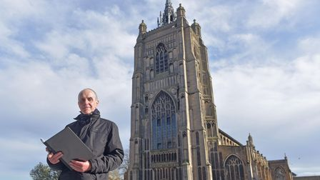 Black History Month (and beyond) walking tour in Norwich. Tour leader Paul Dickson