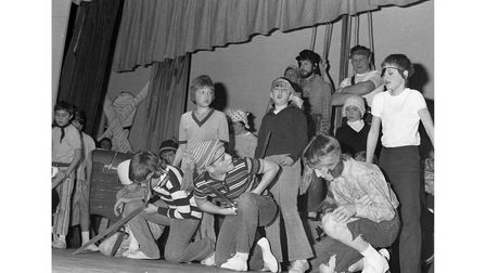 Stowmarket Scouts Christmas Show in December 1973