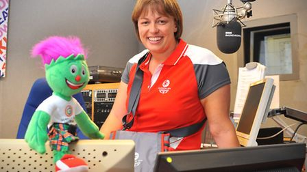 BBC Radio Norfolk presenter Nicky Price gears up for volunteering at the Commonwealth GamesPhoto by