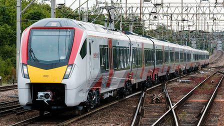 New Intercity train at Colchester