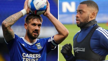 Ipswich Town captain Luke Chambers is looking forward to the return of Kane Vincent-Young