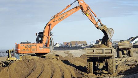 Firms will soon have to pay towards the cost of maintaining the sea defences. Picture: Matthew Usher