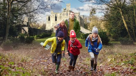 Families can enjoy a Christmas trail at Framlingham Castle from Boxing Day