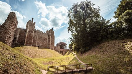 Framlingham Castle dates back to the 11th century and is a Suffolk icon