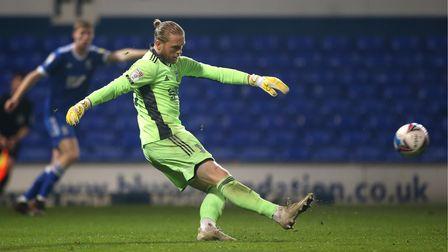 Ipswich Town goalkeeper David Cornell has started the last five league games for the Blues