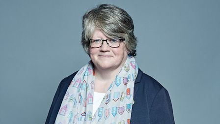 Suffolk Coastal MP Therese Coffey Picture: CHRIS McANDREW/UK PARLIAMENT