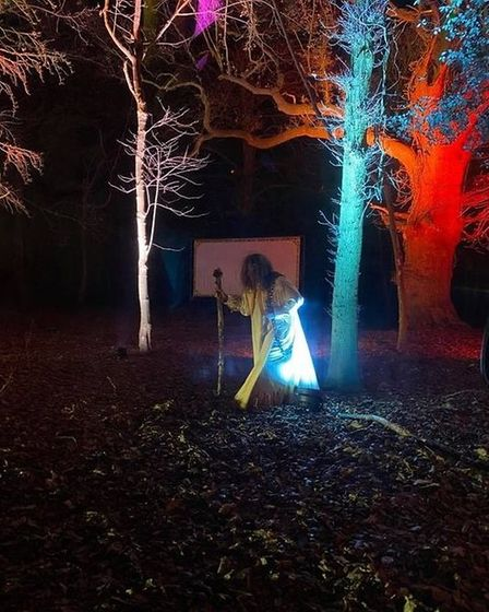 Some characters prompted visitors to compared the event more to Halloween than Christmas.