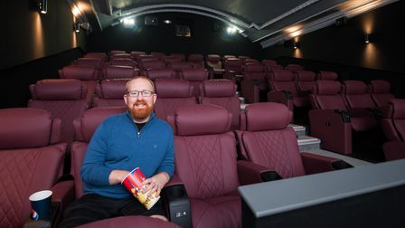 Majestic Cinema manager, Tom Cundy. Picture: Ian Burt Photography