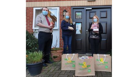 East of England Co-op donate to care home residents