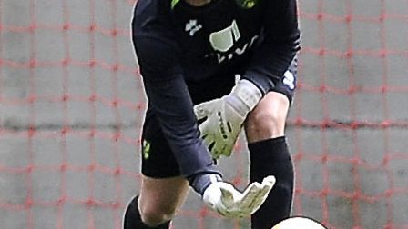 John Ruddy is just one of the talented keepers Norwich City's new goalkeeping coach Tony Parks is lo