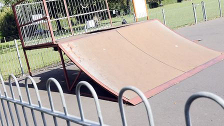 Swaffham skate park which is constantly being vandalised Picture by: Matthew Usher.