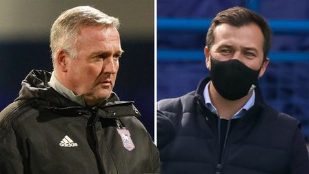Manager Paul Lambert and general manager Lee O'Neill have both tested positive for coronavirus
