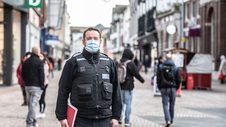 Police, Trading Standards and Ipswich Borough Council took to the streets of Ipswich on Wednesday 22