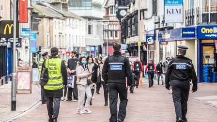 Police, Trading Standards and Ipswich Borough Council spoke with members of the public, businesses and workers