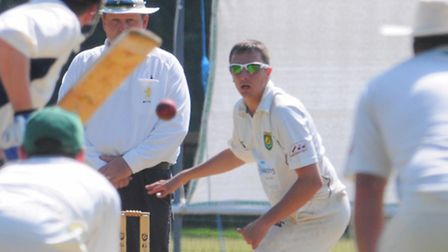 James Hale was in great form for Great Witchingham. Photo: Steve Adams