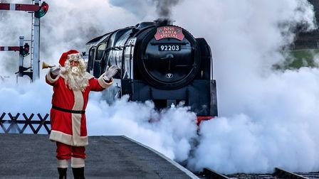 Could you volunteer as a carriage host on the North Norfolk Railway's Santa Special?