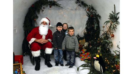 Santa's Grotto at Ickworth House near Bury St Edmunds in 2008