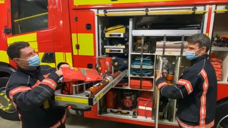Cambridgeshire Fire and Rescue Service are telling daily Christmas cracker jokes in the run-up to the big day.