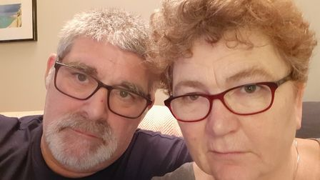 Alan Austin and his wife Vanessa have been left frustrated by their poor experience with Openreach
