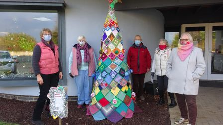 From left,Claire Penstone-Smith, Christine Breedon, Jane Fowle, Marily Prigmore, Carole Griffiths with the alternative...
